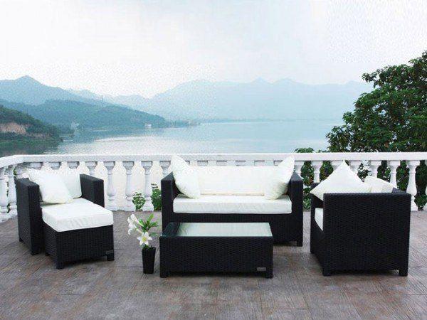 Polyrattan Lounge-Set Siena