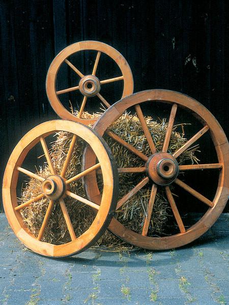 3-teiliges Wagenrad-Set (Art.Nr. P-350/1, 350/2 und 350/3)