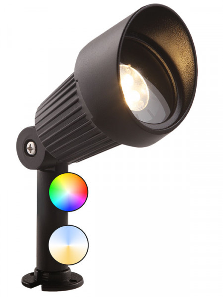 smarter Garten-Spotstrahler 'Focus Plus' von Garden-Lights (Art.Nr. 3200011)