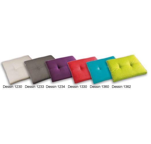 Stuhlauflage konisch 44x48/44x5 cm Dessins