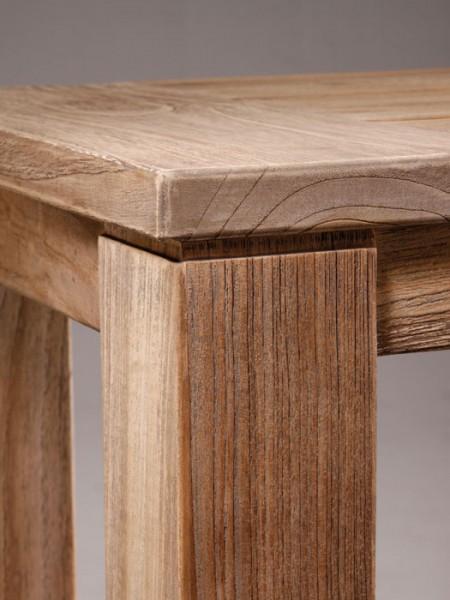Teakholz Dinning-Tisch Moretti Beinkonstruktion