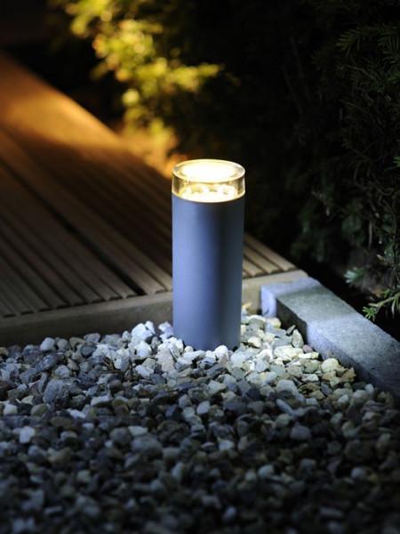 Leuchte Linum im Garten