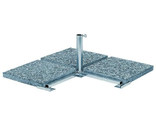 Platten-Ständer, extra schwer (ohne Wegplatten)