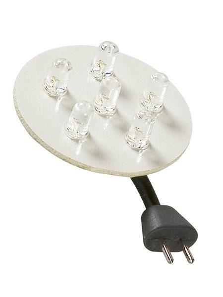 LED-Einheit GU5.3 mit 6 Einzel-LEDs (Art.Nr. 1066101)