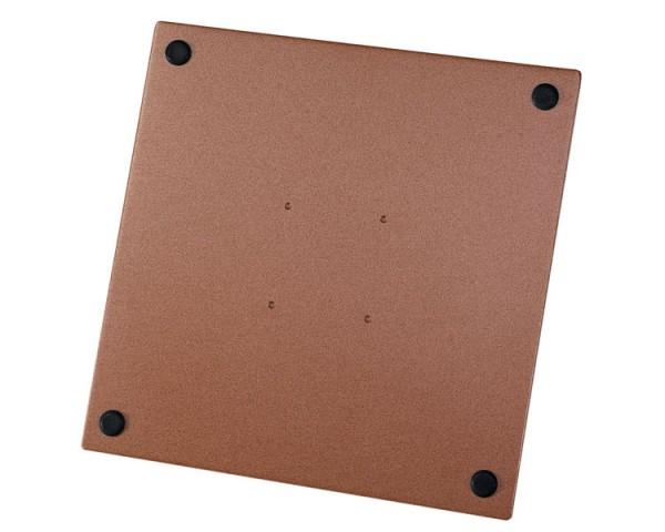 Stahlplatte zu Standrohr für Strohschirme