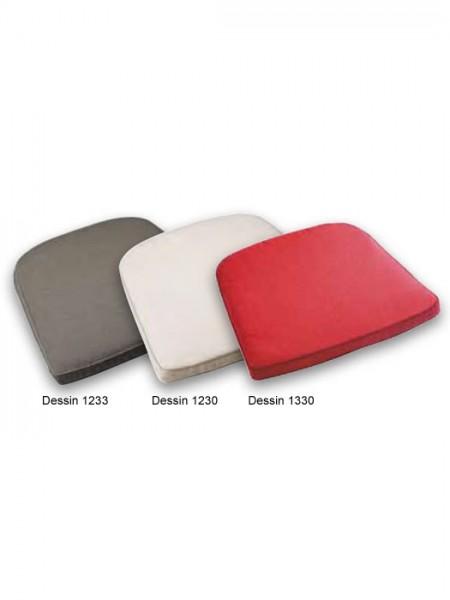 Stuhlauflage konisch mit Reißverschluss Dessins