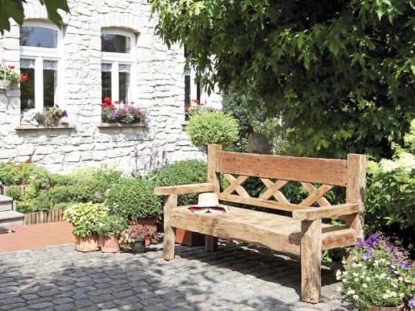 Gartenbank Unikat