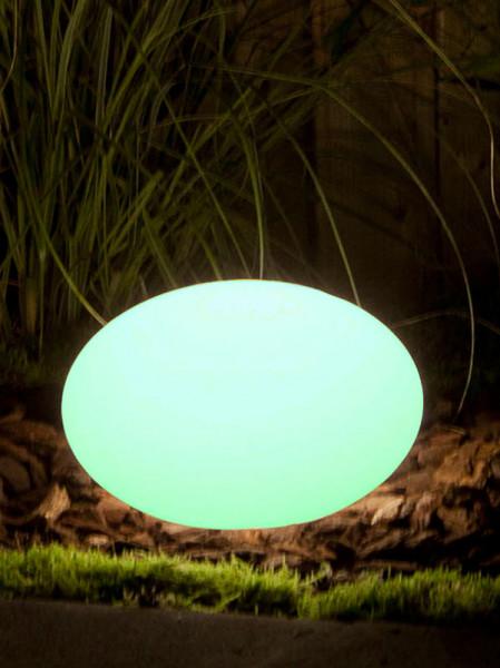 Sphärenleuchte Oval 28 grün