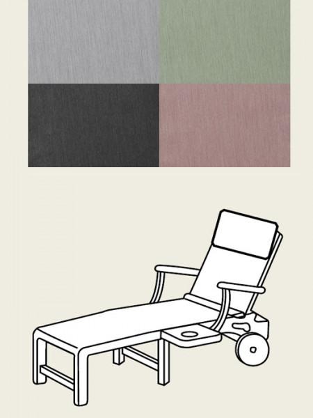 Polsterauflage Comfort-Line für Rollliege, diverse Dessins